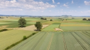 Agrarlandschaft Mittelhessen. Jagdhabitat der Rotmilane. © Luftpixel.de